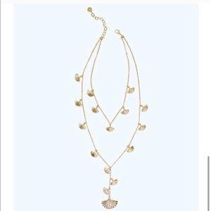 Lilly Pulitzer Coastal Shell necklace